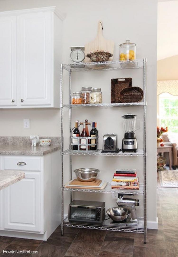 Small Apartment Balcony Garden Ideas: 50 Smart Small Apartment Kitchen Organizations Ideas