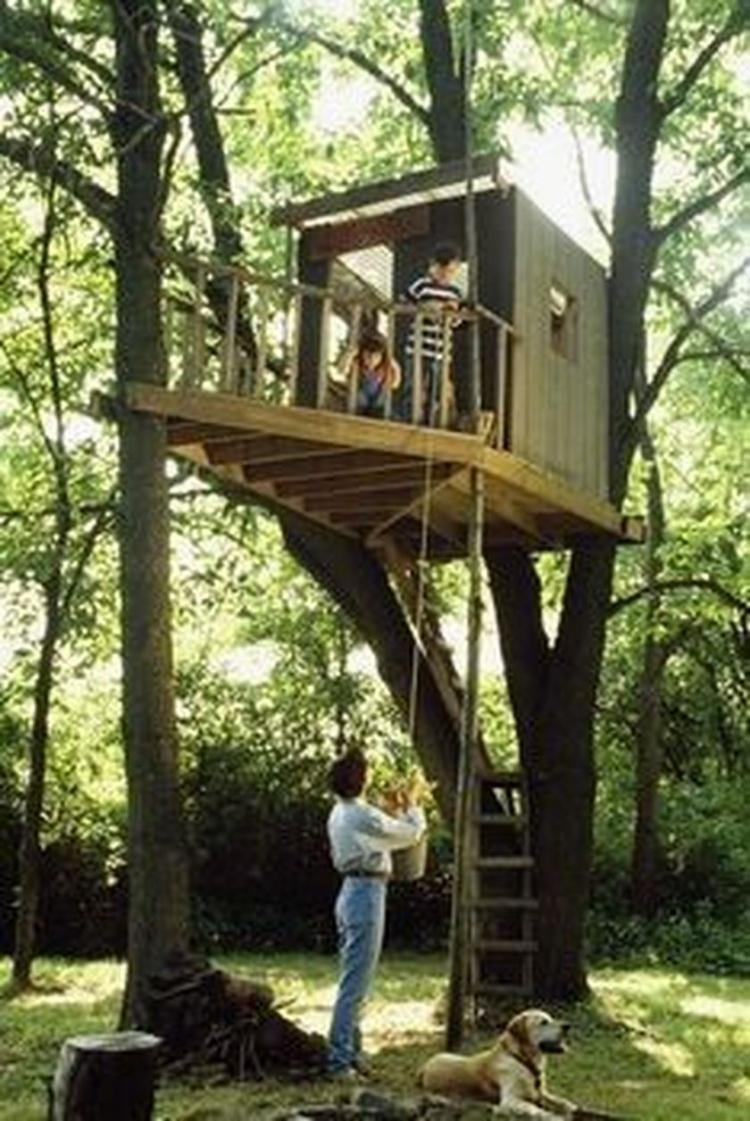 65+ Modest DIY Treehouse for Kids Play Ideas - Page 3 of 76