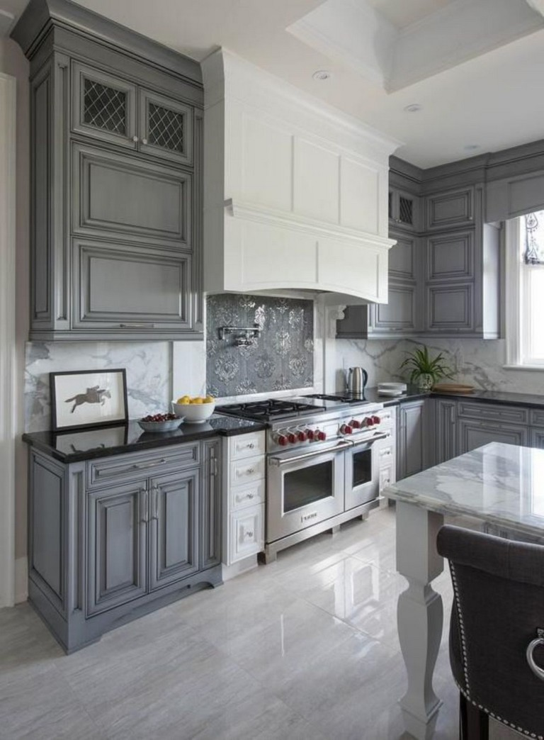 70 stunning kitchen light cabinets with dark countertops