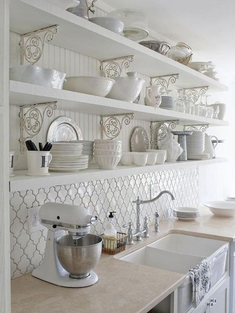 25 Contemporary French Country Kitchen Design Ideas
