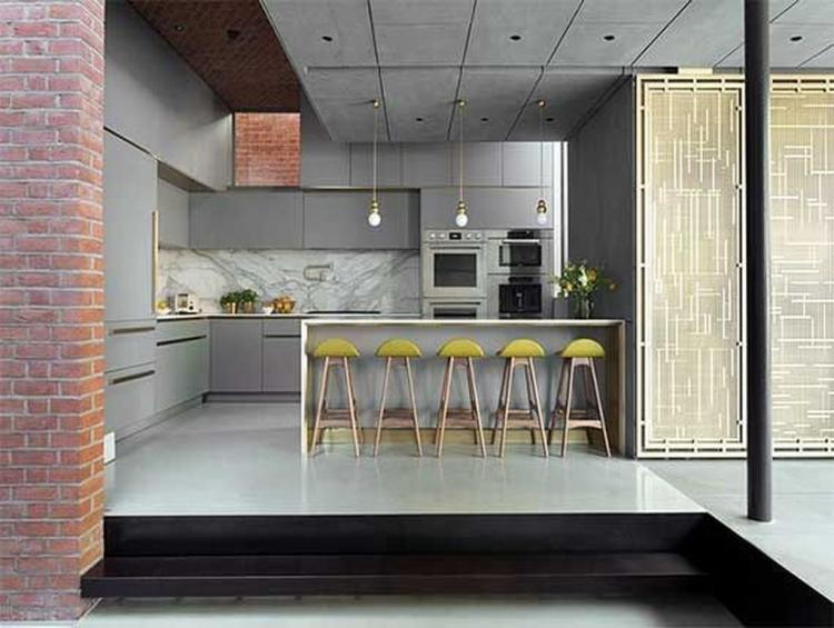 exciting red kitchen decor | 55+ Exciting Functional Kitchen Design Ideas - Page 58 of 58