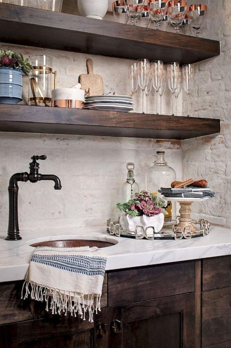 - 65+ Fancy Farmhouse Kitchen Backsplash Decor Ideas