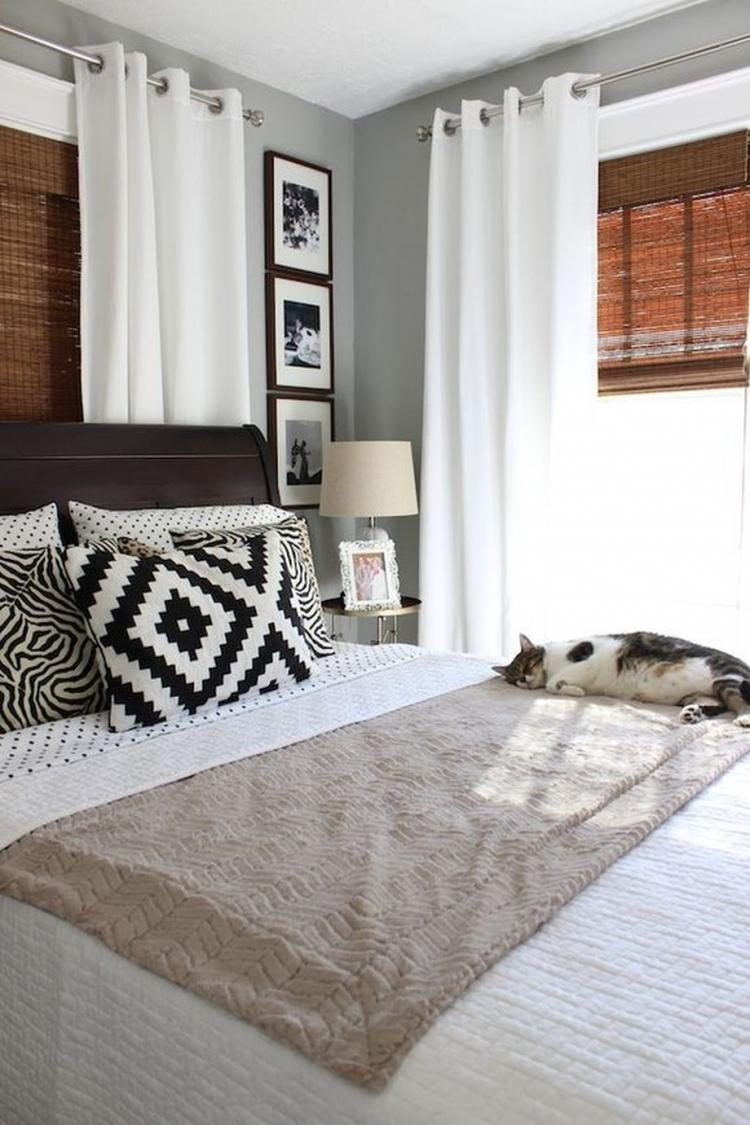 65 Cozy White Curtain For Bedroom And Living Room Ideas