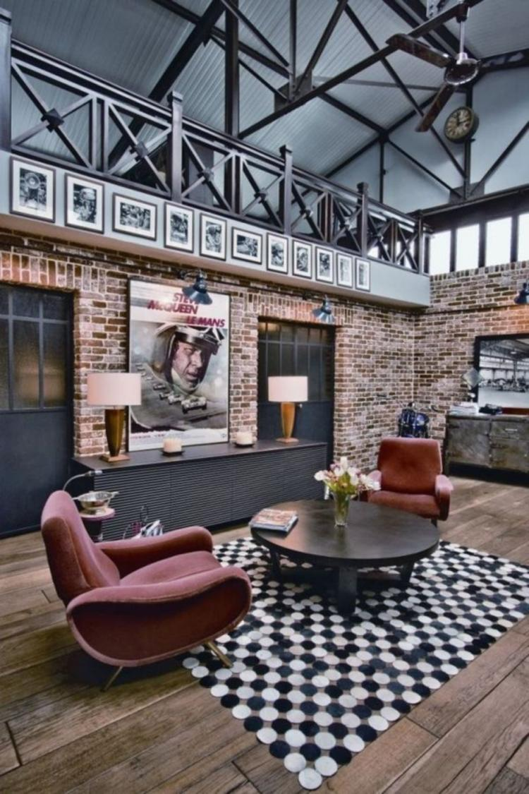Exposed Brick Wall Decorating Ideas from woyhome.com