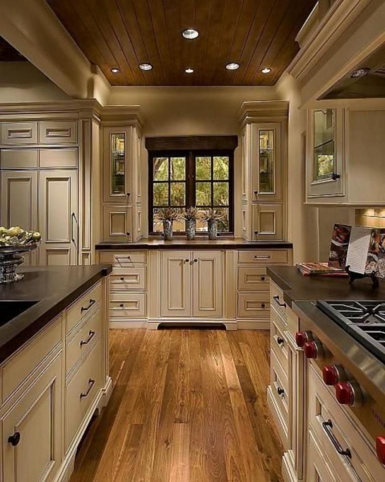 70 Stunning Kitchen Light Cabinets with Dark Countertops ...
