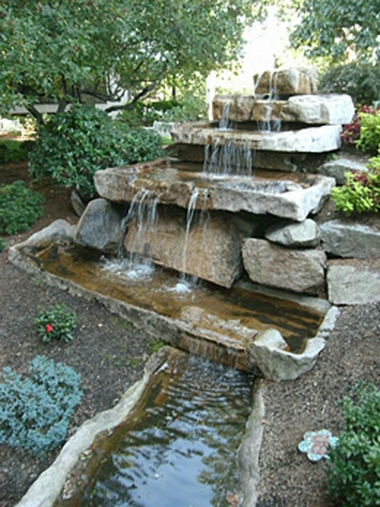 35+ Amazing How to Make Waterfall for Your Home Garden Designs on Waterfall Ideas For Garden id=27664