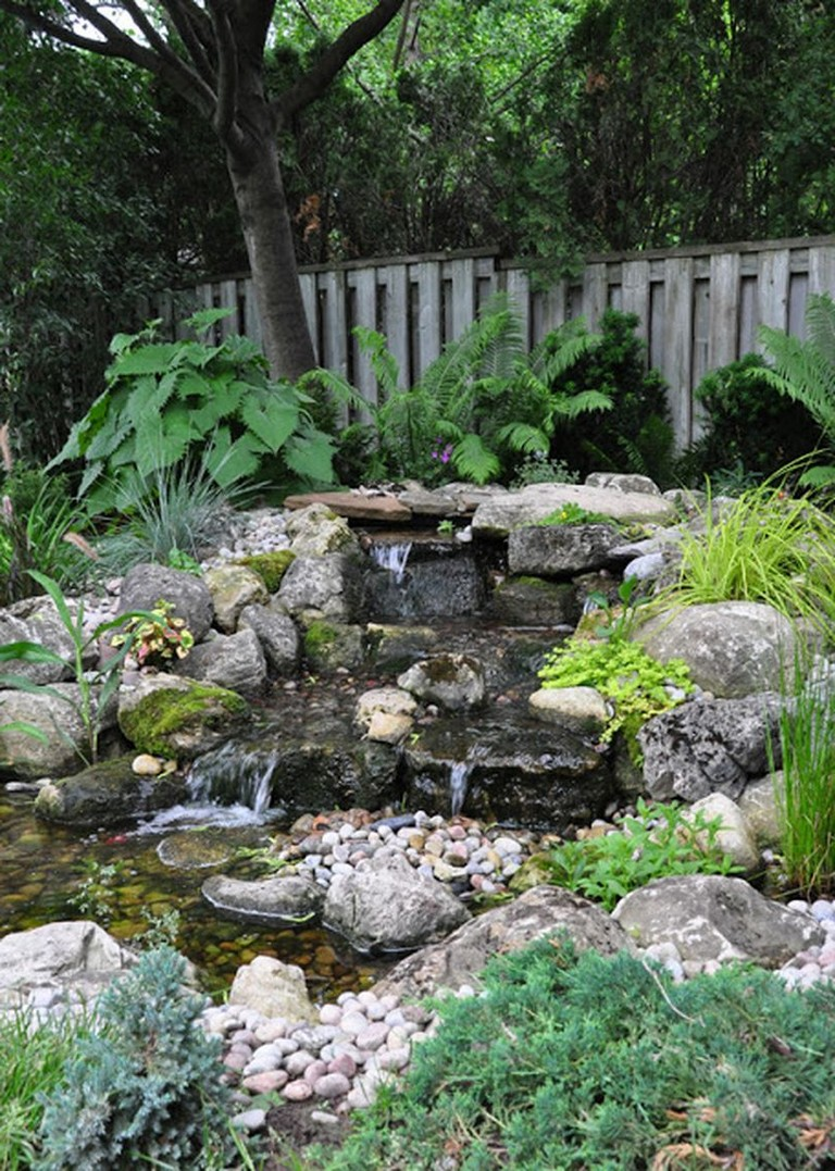 35+ Amazing How to Make Waterfall for Your Home Garden ... on Garden Waterfall Design id=26562