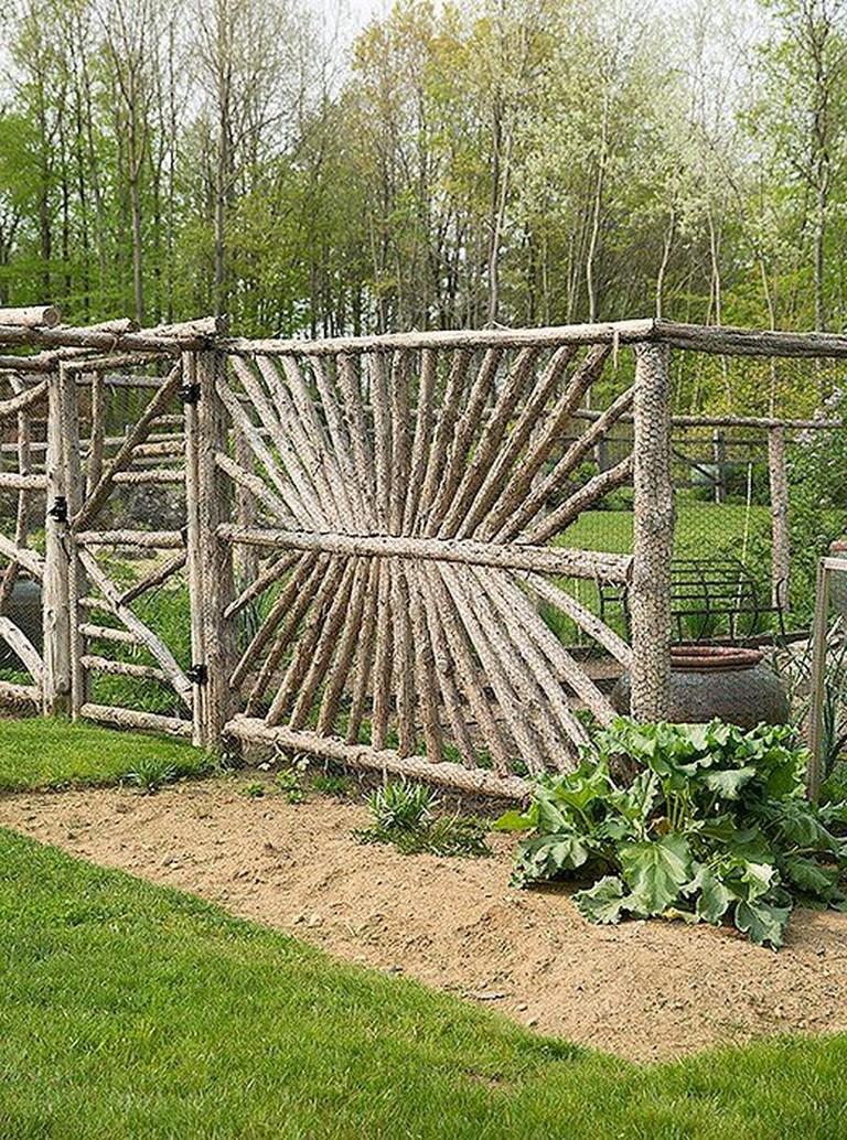 70 Amazing Rustic Garden Gates Design Ideas Page 2 Of 71