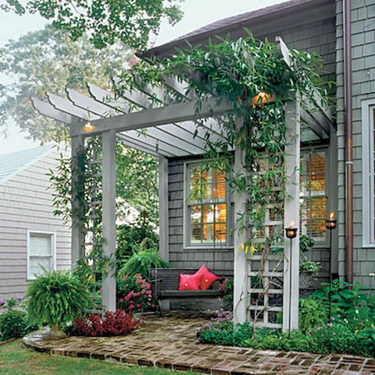 24+ Amazing Creative Shade Ideas in Your Backyard Patio ... on Creative Patio Designs id=83857