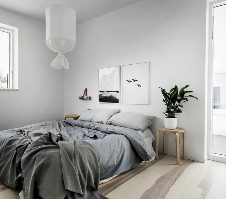 45+ Cozy & Minimalist Bedroom Ideas on A Budget - Page 4 of 48 on Minimalist Bedroom  id=86677