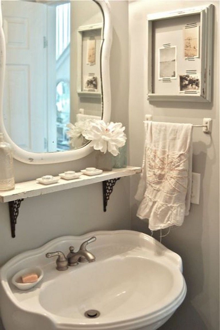 12+ Interesting Shabby Chic Bathroom Decor Ideas - Page 12 of 12